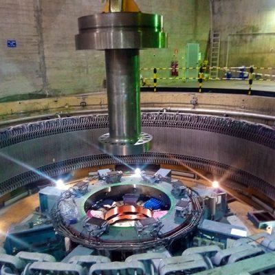 Rehabilitación de rotor y cruceta del Grupo 1 de la Central Hidráulica de Torrejón - Iberdrola.